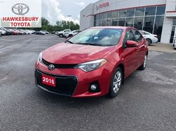 2016 Toyota Corolla S CVT WITH HEATED SEATS B-CAMERA