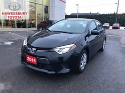 2016 Toyota Corolla LE CVT HEATED SEATS AND BACK UP CAMERA