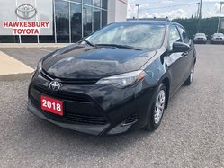 2018 Toyota Corolla LE CVT WITH ONLY 16892 KM WOW