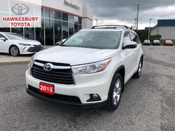 2015 Toyota Highlander LIMITED WITH PEARL WHITE AND TAN INTERIOR