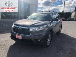 2015 Toyota Highlander XLE V6 AWD WITH ROOF, LEATHER, NAVIGATION