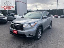2015 Toyota Highlander XLE AWD WITH ROOF, MAGS, NAVIGATION