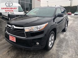 2015 Toyota Highlander LIMITED AWD WITH ECP 5 YEAR/120, 000KM