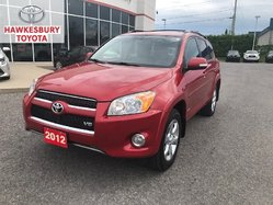 2012 Toyota RAV4 LIMITED AWD V6 HEATED LEATHER ROOF MAGS NAVIGATION