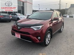2018 Toyota RAV4 LIMITED AWD WITH FACTORY REMOTE START ONLY 5612 KM