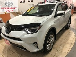 2018 Toyota RAV4 HYBRID LIMITED WITH TECHNOLOGY PKG