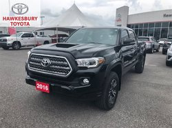 2016 Toyota Tacoma DBL CAB TRD SPORT WITH ROOF, BLIND SPORT & NAV