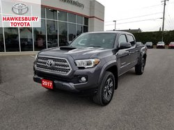 2017 Toyota Tacoma DBL CAB TRD PREMIUM WITH NAVIGATION AND SUNROOF