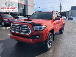 2017 Toyota Tacoma DBL CAB TRD SPORT 6SPD MANUEL WITH SUNROOF