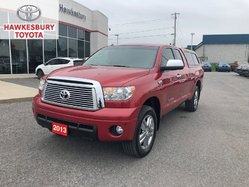 2013 Toyota Tundra DBL CAB LIMITED  NAVI HEATED PWR LEATHER SEATS