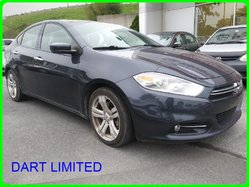 Dodge DART LIMITED SMART KEY CUIR TOIT MAGS BANCS CHAUFFANT LIMITED  2013