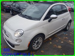 Fiat 500 CONVERTIBLE LOUNGE 2DR CONV LOUNGE CUIR MAGS  2013