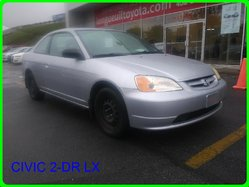Honda Civic 2-dr LX  2003