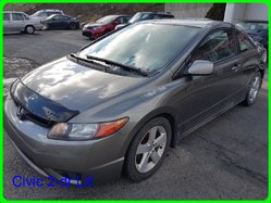 Honda Civic 2-dr LX  2006