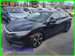 Honda Civic touring TOURING CUIR GPS CAMERA SIEGE CHAUFFANT TURBO  2016