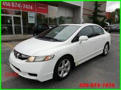 Honda Civic * MANUELLE AVEC TOIT OUVRANT *  2009
