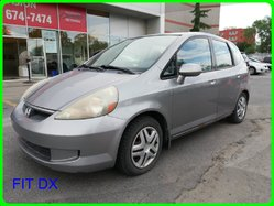 Honda FIT DX FIT DX AVEC JANTES  2007