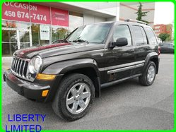 Jeep LIBERTY LIMITED 4WD LIMITED 3.7LT TRAIL RATED  2005