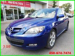 2007 Mazda 3 GS * JANTES ALUMINIUM ET 4 ROUES D'HIVER *
