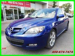 Mazda 3 GS * JANTES ALUMINIUM ET 4 ROUES D'HIVER *  2007