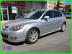 Mazda 3 GS A/C,CRUISE, VITRES ÉLECTRIQUES, MAGS  2008