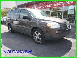 Pontiac Montana SV6 VITRES ELECTRIQUES QUEL AUBAINE  2008