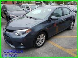 Toyota COROLLA LE ECO LE ECO TOIT MAGS SIEGE CHAUFFANT CAMERA RECUL  2014