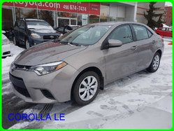 Toyota Corolla LE BAS MILLAGE SIEGES CHAUFFANT CAMERA  2014
