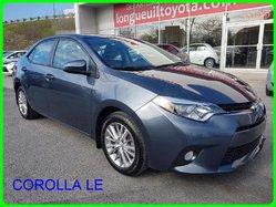 Toyota Corolla LE LE MAG TOIT CAMERA SIEGE CHAUFFANTS  2015