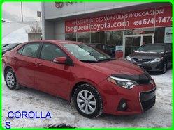 Toyota COROLLA S Pneu d'hiver  2014