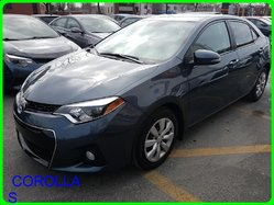 Toyota COROLLA S BAS MILLAGE  2014
