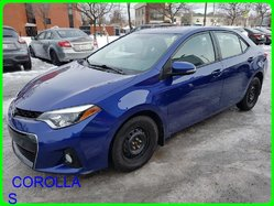 Toyota COROLLA S GPS TOIT MAGS CAMERA CUIR SIEGE CHAUFFANT  2014