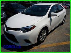 2014 Toyota Corolla SIEGE CHAUFFANTS CAMERA RECUL BAS MILLAGE