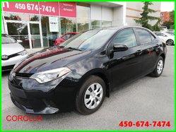 Toyota Corolla CE * BAS KILOMÉTRAGE *  2014