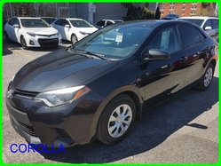 Toyota Corolla 4 PORTES SEDAN AUTOMATIQUE CE BAS MILLAGE  2014