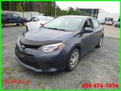 Toyota Corolla CE * MANUELLE AVEC BLUETOOTH *  2014