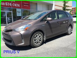 Toyota Prius v 5 PORTES, NAVI, CAMÉRA ET SIÈGES CHAUFFANTS  2015