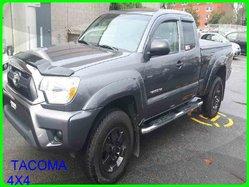 Toyota TACOMA 4X4 ACCESS CAB V6 BLUETOOTH CAMÉRA DE RECULE A/C  2015