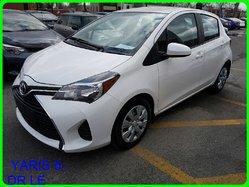 Toyota YARIS 5-DR LE GPS  SIÈGES CHAUFFANTS  2015