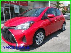Toyota YARIS 5-DR LE AIR VITRES ÉLECTRIQUES BLUETOOTH BAS MILAGE !!  2016