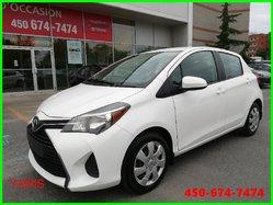 Toyota Yaris LE * COMPACTE ET ÉCONOMIQUE *  2015