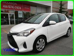 Toyota Yaris 5 PORTES LE, COMPACTE ET ÉCONOMIQUE  2015