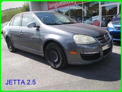 Volkswagen JETTA 2.5 VITRE ELCTRIQUE A/C TELE DEVEROUILLAGE BAS MILAGE  2006