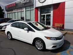 Honda Civic EX TOIT MAGS BAS KILO  2012