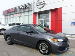 Honda Civic EX Coupe TOIT DEMAREUR 8 MAGS  2014