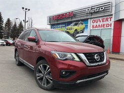 Nissan Pathfinder SL Platinum AWD 4X4, DVD, HITCH  2017