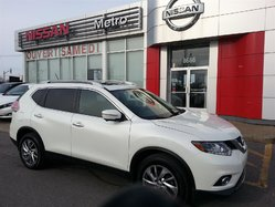 Nissan Rogue SL AWD CUIR GPS TOIT PANO ROOF  2015
