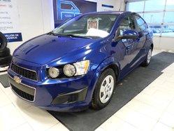 Chevrolet Sonic LS BAS KILOMÉTRAGE  2013