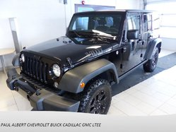 Jeep Wrangler Unlimited Willys Wheeler Edition  2016
