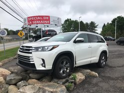 Toyota Highlander LIMITED AWD **GARANTIE PROLONGÉE**  2017
